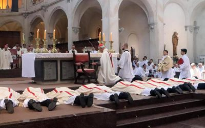 """Card. Poli a los nuevos sacerdotes: """"Apacienten el rebaño de Dios y velen por Él"""""""
