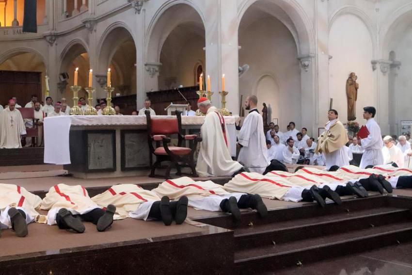 Card. Poli a los nuevos sacerdotes: «Apacienten el rebaño de Dios y velen por Él»